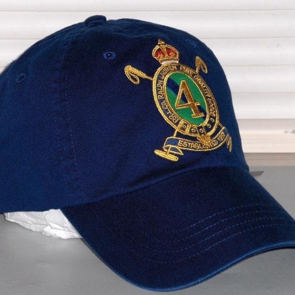 69ba18ddf04f8 Vintage Ralph Lauren Polo Crest Hat. M 5ae0e7e6a825a6d2239bc255